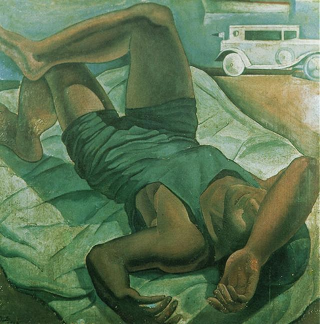 SALVADOR DALI – 1924 – 01 – Bather 1924