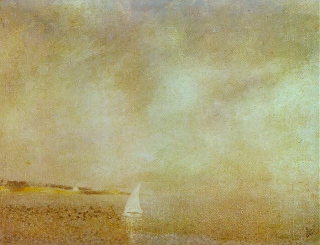 SALVADOR DALI – 1925 – 12 – Bay of CadaquNs 1925
