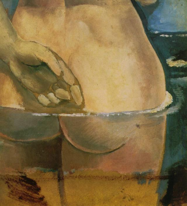 SALVADOR DALI – 1925 – 19 – Nude in the Water 1925