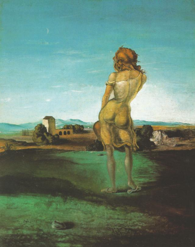 SALVADOR DALI – 1926 – 05 – Girl with Curls 1926