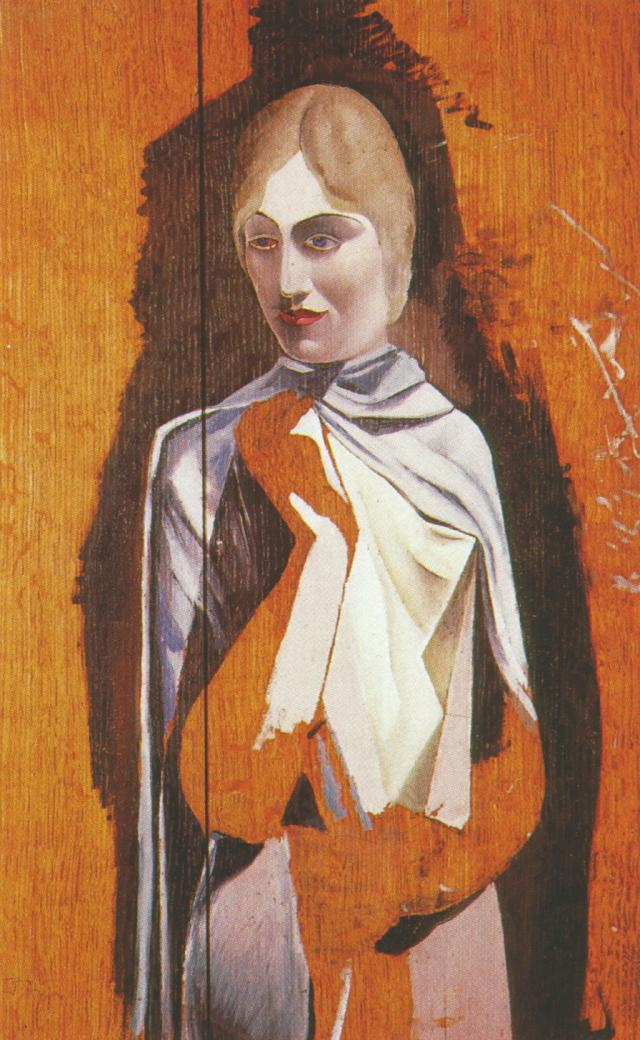 SALVADOR DALI – 1926 – 24 – Portrait of a Woman (unfinished) 1926