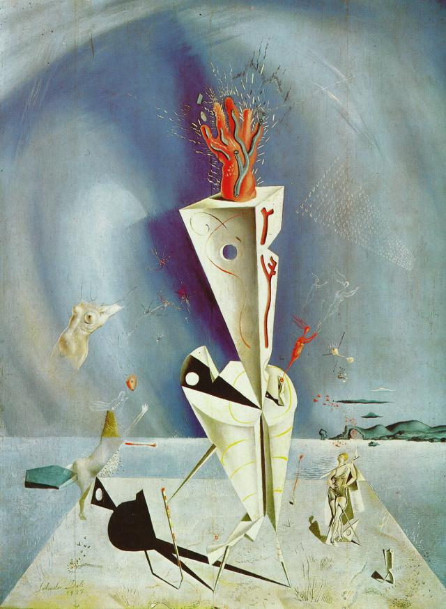 SALVADOR DALI – 1927 – 01 – Apparatus and Hand 1927