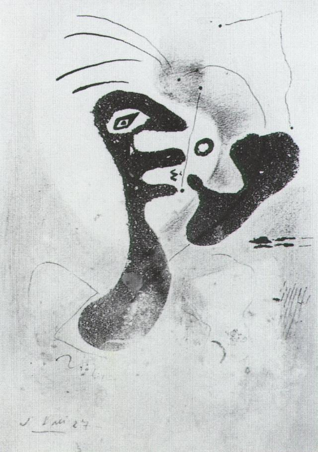 SALVADOR DALI – 1927 – 14 – Untitled 1927