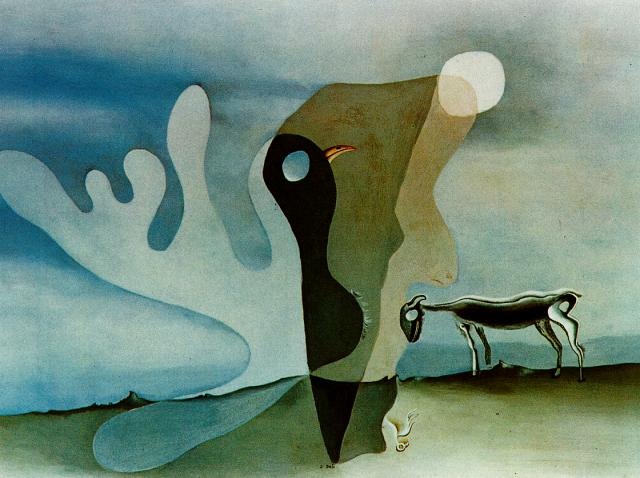 SALVADOR DALI – 1928 – 05 – The Ram (The Spectral Cow) 1928