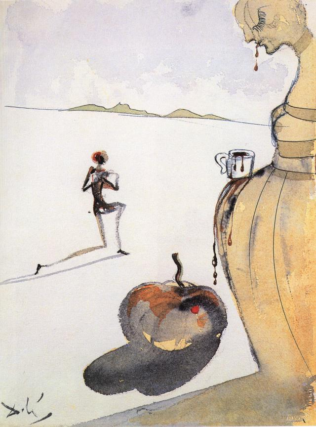 SALVADOR DALI – 1930 – 28 – Chocolate circa 1930