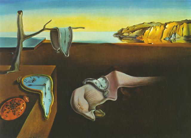SALVADOR DALI – 1931 – 06 – The Persistence of Memory 1931