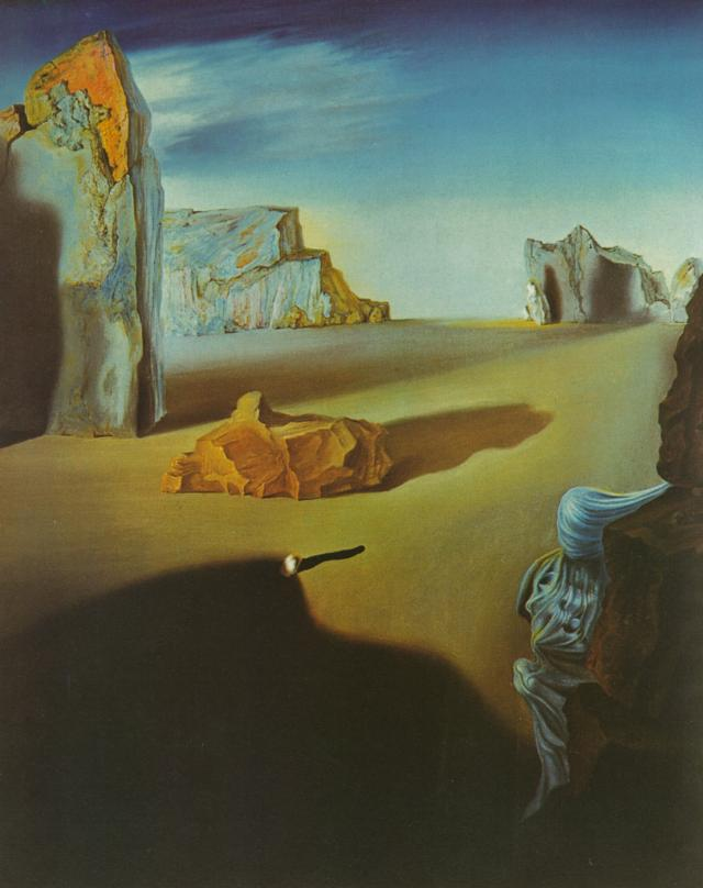 SALVADOR DALI – 1931 – 07 – Shades of Night Descending 1931