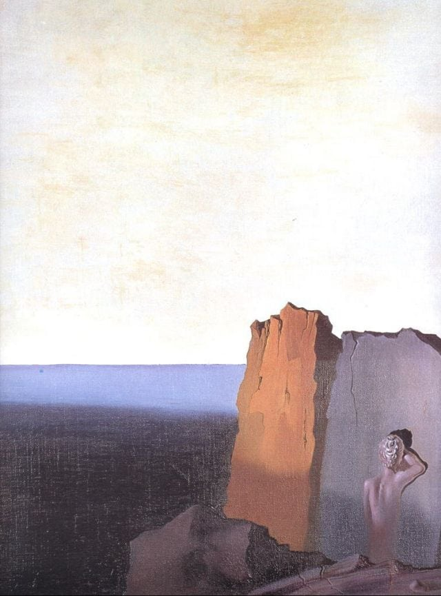 SALVADOR DALI – 1931 – 11 – Solitude 1931