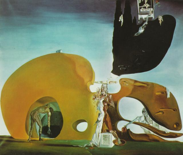 SALVADOR DALI – 1932 – 03 – The Birth of Liquid Desires 1932