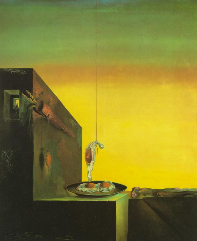 SALVADOR DALI – 1932 – 05 – Eggs on the Plate Without the Plate 1932