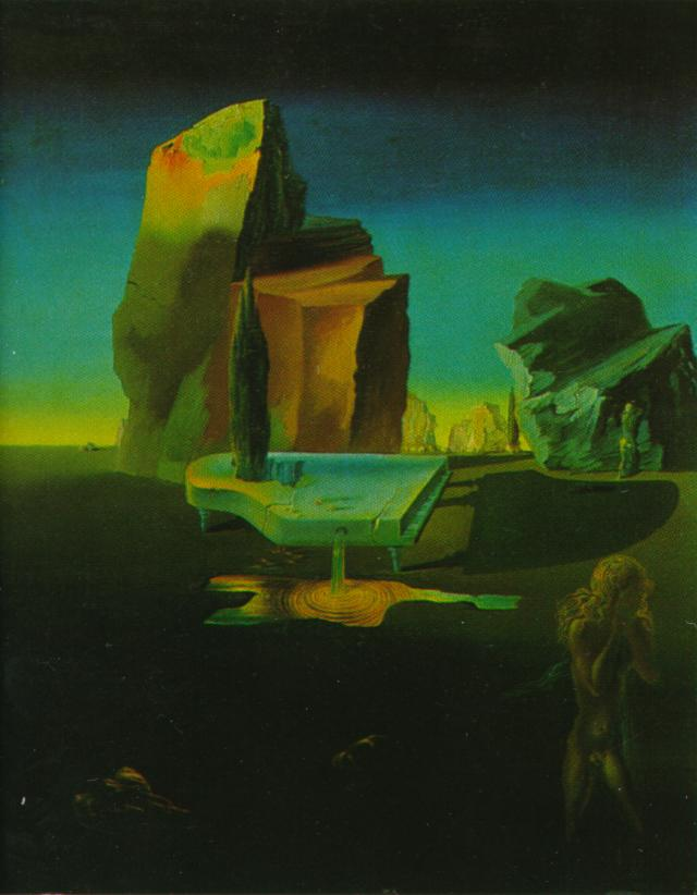 SALVADOR DALI – 1932 – 41 – The Mysterious Sources of Harmony 1932-33