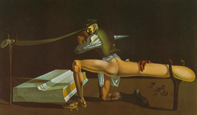SALVADOR DALI – 1933 – 06 – The Enigma of William Tell 1933