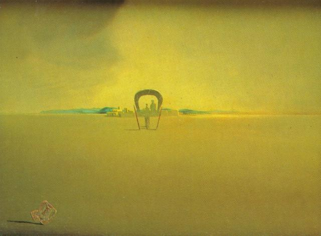 SALVADOR DALI – 1933 – 22 – The Phantom Cart 1933