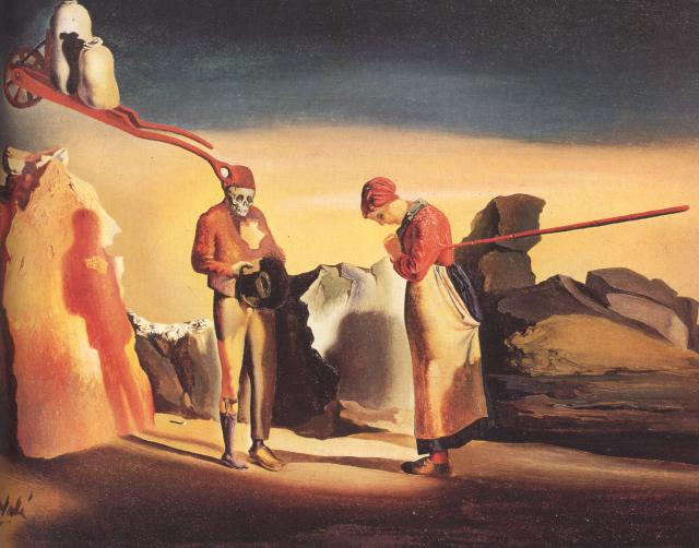 SALVADOR DALI – 1934 – 01 – Atavism at Twilight circa 1934