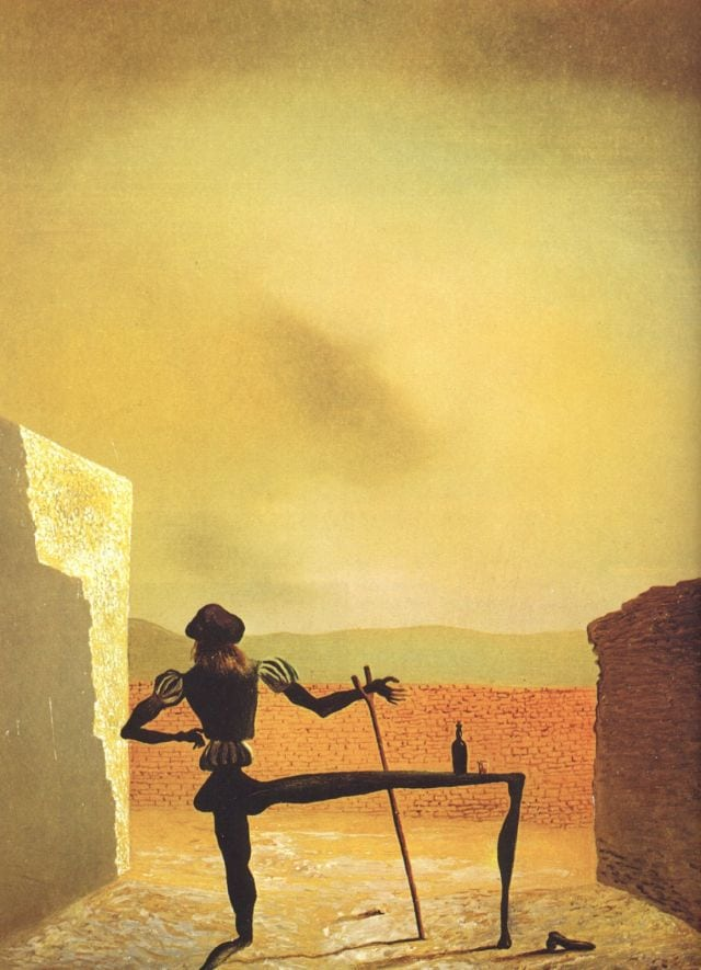 SALVADOR DALI – 1934 – 08 – The Ghost of Vermeer of Delft Which Can Be Used As a Table 1934