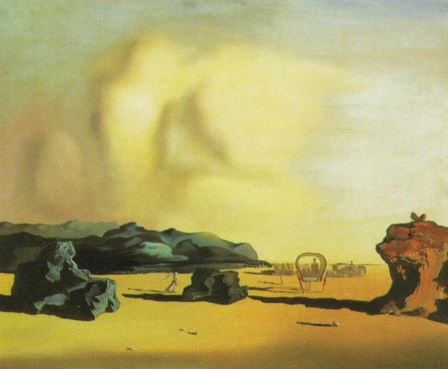 SALVADOR DALI – 1934 – 11 – Moment of Transition 1934