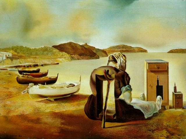 SALVADOR DALI – 1934 – 18 – The Weaning of Furniture-Nutrition 1934