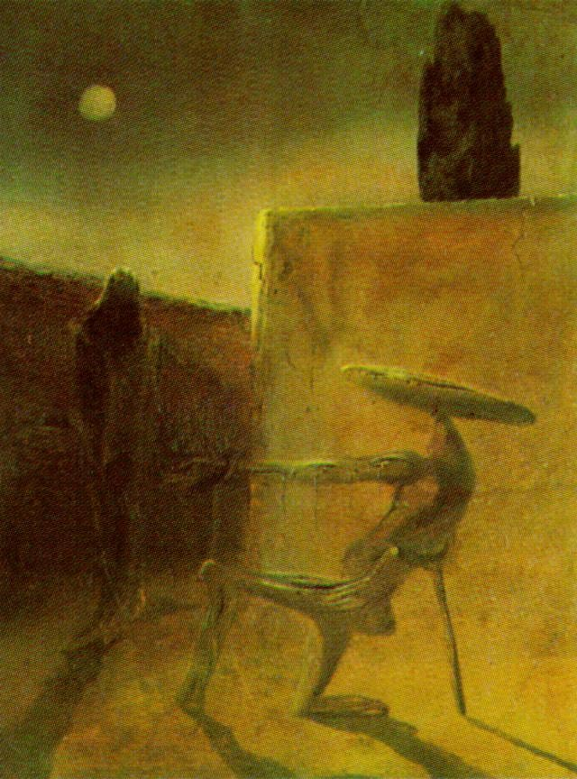 SALVADOR DALI – 1934 – 49 – The Ghost of Vermeer van Delft circa 1934