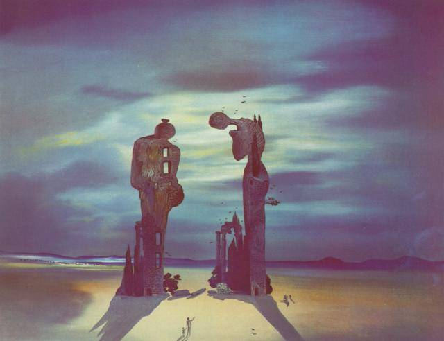 SALVADOR DALI – 1935 – 02 – Archaeological Reminiscence of Millet s Angelus 1935