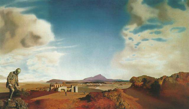 SALVADOR DALI – 1936 – 10 – The Pharmacist of Ampurdan in Search of Absolutely Nothing 1936
