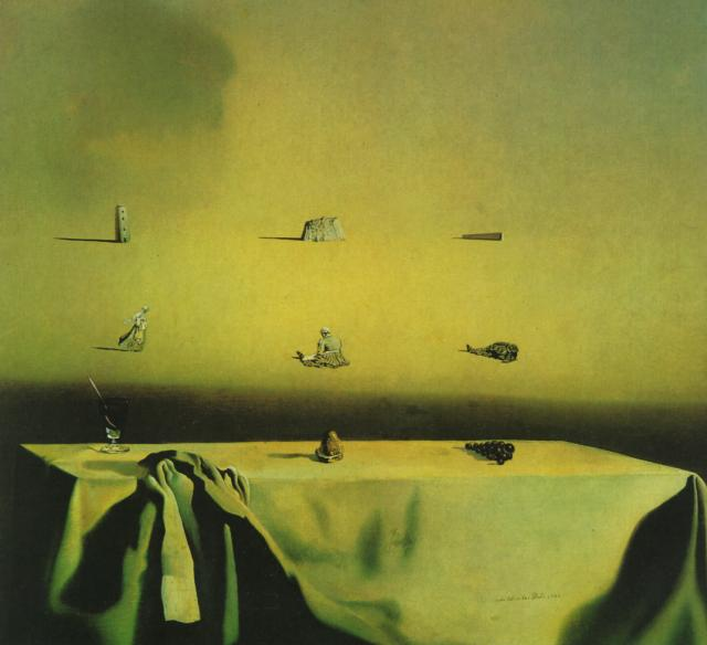 SALVADOR DALI – 1936 – 23 – Morphological Echo 1936