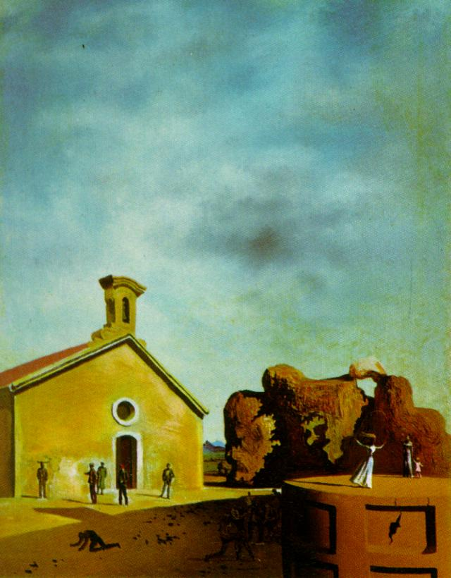 SALVADOR DALI – 1936 – 44 – Bread on the Head of the Prodigal Son 1936