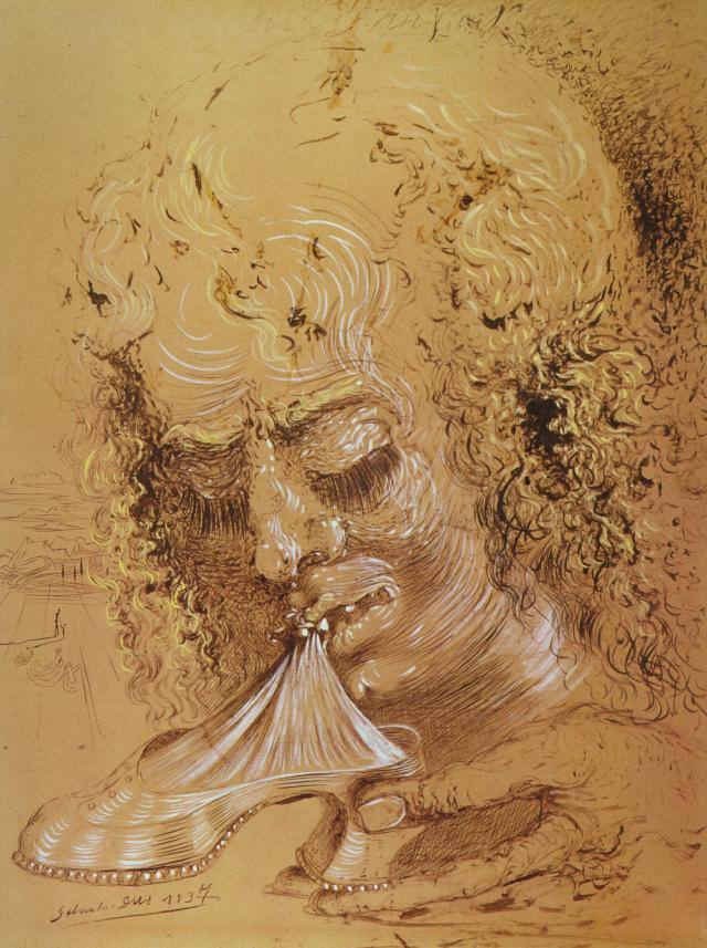 SALVADOR DALI – 1937 – 08 – Cannibalism of the Objects 1937