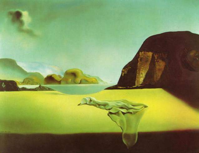 SALVADOR DALI – 1938 – 09 – The Transparent Simulacrum of the Feigned Image 1938