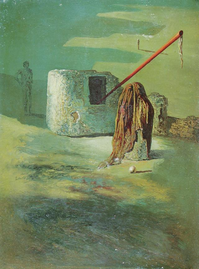 SALVADOR DALI – 1938 – 13 – The Warning 1938