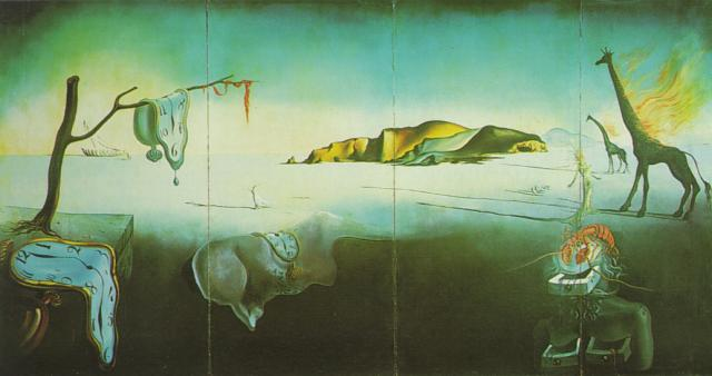 SALVADOR DALI – 1939 – 10 – The Dream of Venus 1939