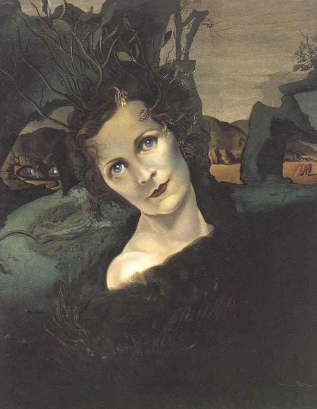 SALVADOR DALI – 1940 – 03 – Lady Louis Mountbatten 1940