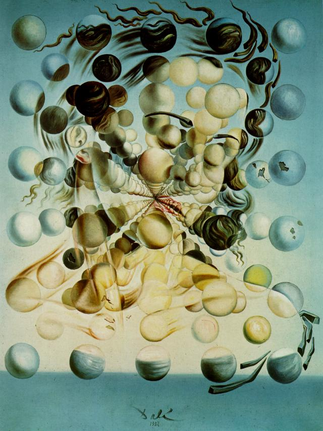 SALVADOR DALI – 1952 – 03 – Galatea of the Spheres 1952