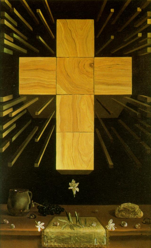 SALVADOR DALI – 1952 – 11 – Arithmosophic Cross 1952