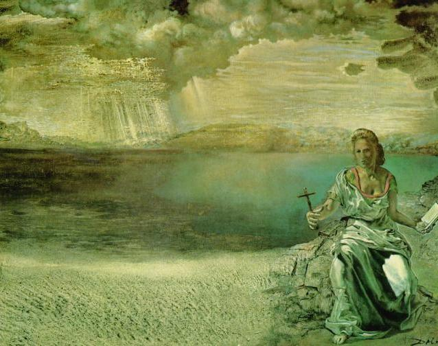 SALVADOR DALI – 1956 – 03 – St. Helena of Port Lligat 1956