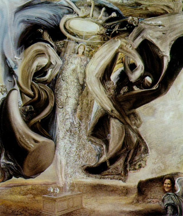 SALVADOR DALI – 1956 – 14 – Anti-Protonic Assumption 1956