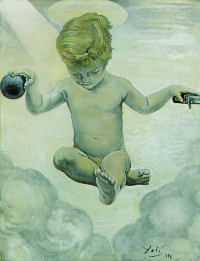 SALVADOR DALI – 1956 – 15 – The Infant Jesus 1956