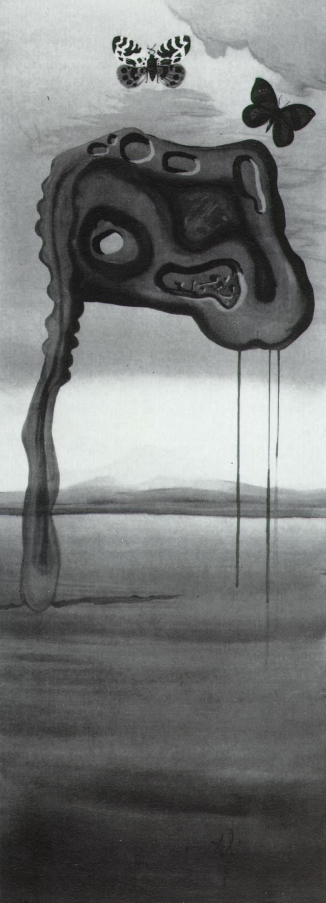 SALVADOR DALI – 1957 – 06 – Untitled (Surrealist Landscape) 1957-58
