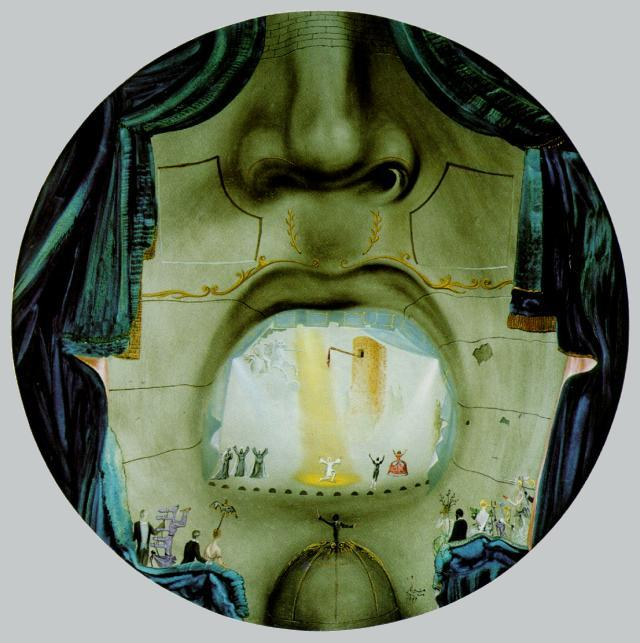 SALVADOR DALI – 1957 – 10 – The Grand Opera 1957