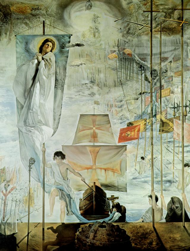 SALVADOR DALI – 1958 – 01 – The Discovery of America by Christopher Columbus 1958-59