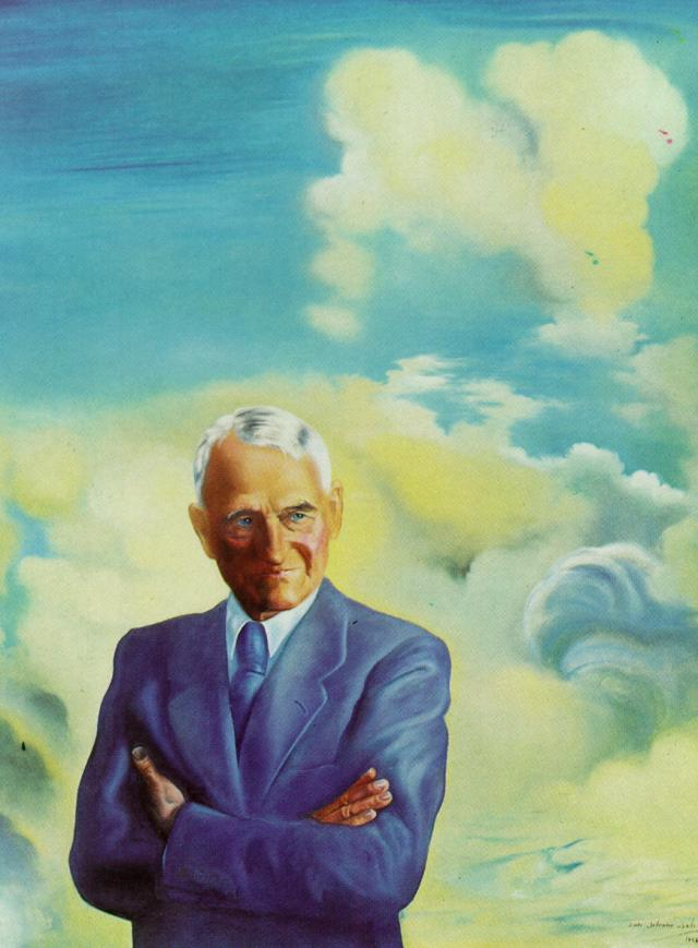 SALVADOR DALI – 1958 – 10 – Portrait of Sir James Dunn 1958