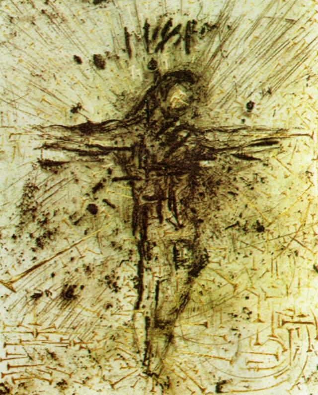 SALVADOR DALI – 1958 – 23 – Christ. From 'The Apocalypse of St. John' 1958
