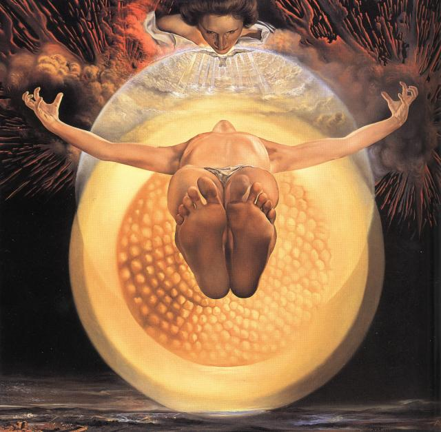 SALVADOR DALI – 1958 – 26 – The Ascension of Christ 1958