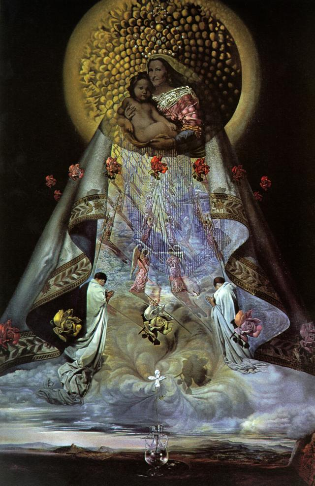 SALVADOR DALI – 1959 – 01 – The Virgin of Guadalupe 1959