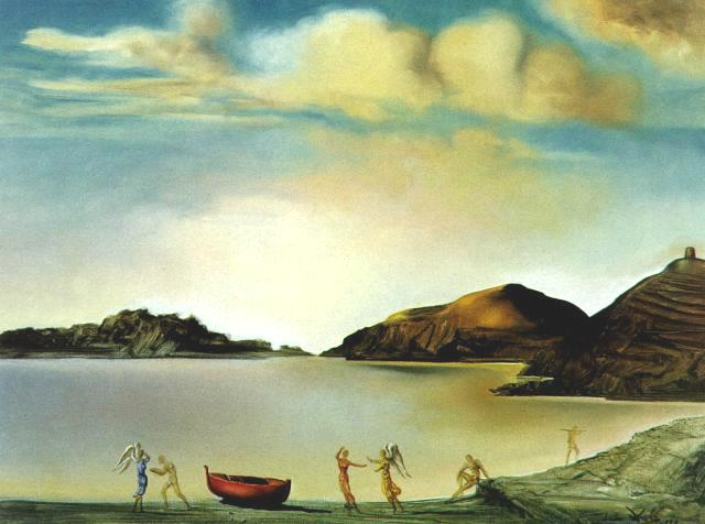 SALVADOR DALI – 1959 – 02 – Port Lligat at Sunset 1959