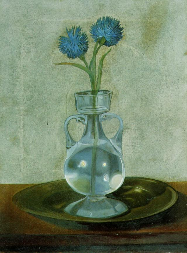 SALVADOR DALI – 1959 – 04 – The Vase of Cornflowers 1959