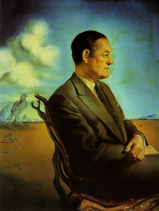 SALVADOR DALI – 1959 – 06 – Portrait of Reinaldo Herrera Marquis De Torre Casa 1959
