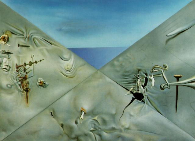 SALVADOR DALI – 1960 – 04 – Hyperxiological Sky 1960
