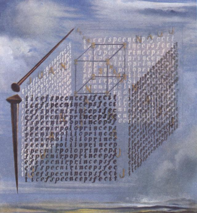 SALVADOR DALI – 1960 – 11 – A Propos of the 'Treatise on Cubic Form' by Juan de Herrera 1960