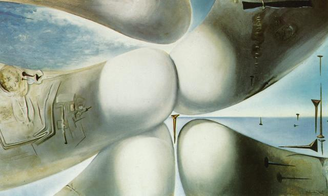 SALVADOR DALI – 1960 – 13 – Birth of a Goddess 1960