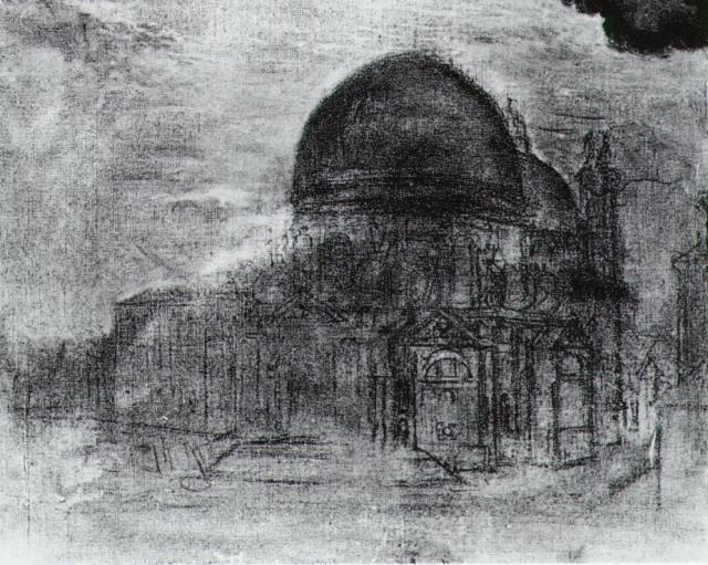 SALVADOR DALI – 1960 – 32 – Cathedral (unfinished) circa 1960
